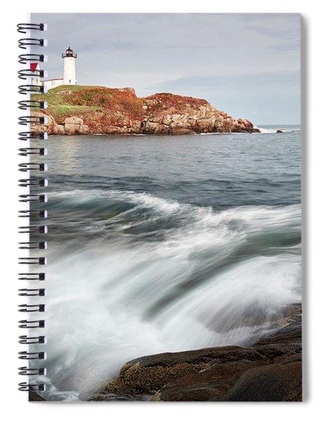 Portland Lighthouse Spiral Notebook