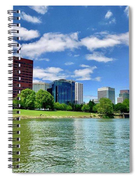 Portland Waterfront Spiral Notebook