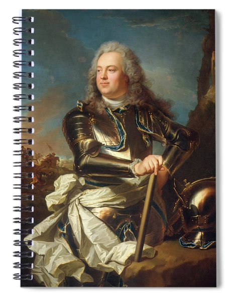Portrait Of A Military Officer Spiral Notebook