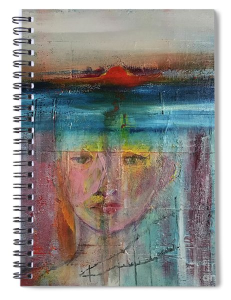 Portrait Of A Refugee Spiral Notebook