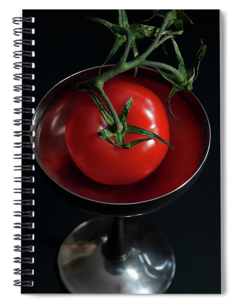 Portrait Of A Tomato  Spiral Notebook