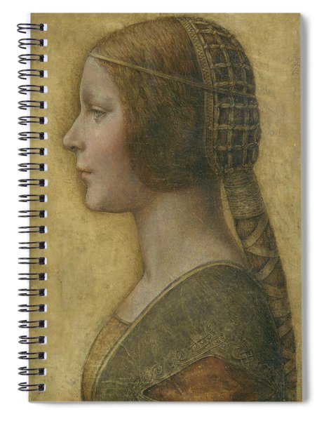 Portrait Of A Young Fiancee Spiral Notebook