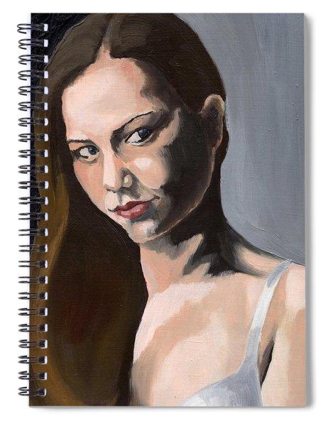 Portrait Of Amanda Spiral Notebook