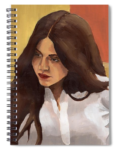 Portrait Of Amelia Spiral Notebook