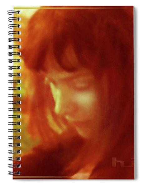A Lady Of Beauty Spiral Notebook