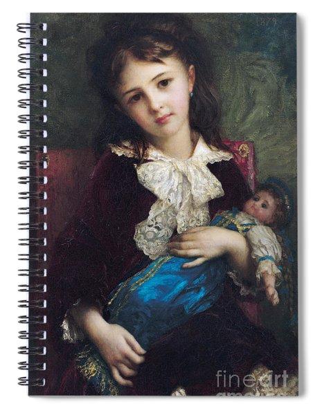 Portrait Of Catherine Du Bouchage Spiral Notebook