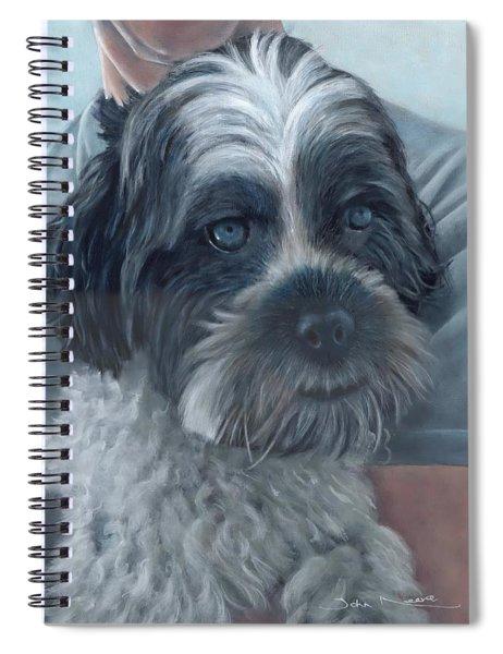 Portrait Of Charley Spiral Notebook