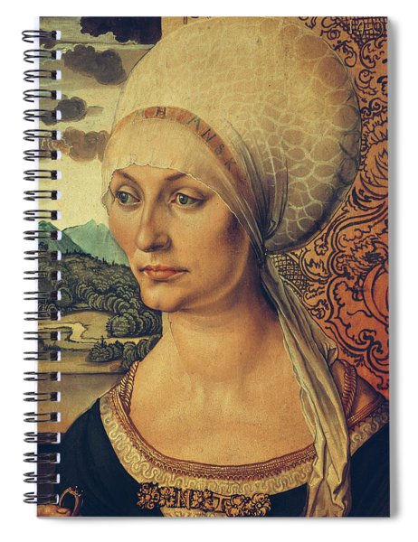 Portrait Of Elisabeth Tucher Spiral Notebook