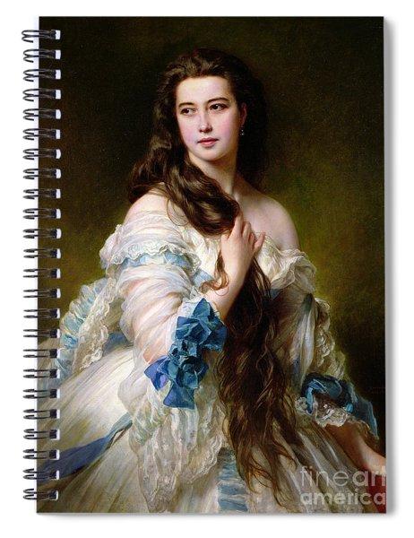 Portrait Of Madame Rimsky Korsakov Spiral Notebook