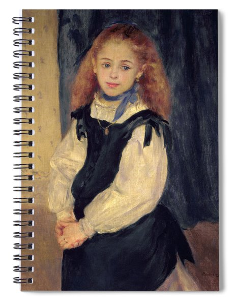 Portrait Of Mademoiselle Legrand Spiral Notebook