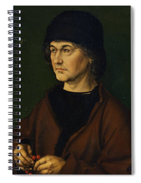 Portrait Of The Artist's Father  Spiral Notebook