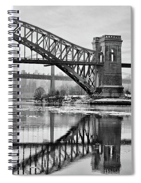 Portrait Of The Hellgate Spiral Notebook