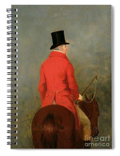 Portrait Of Thomas Cholmondeley Spiral Notebook