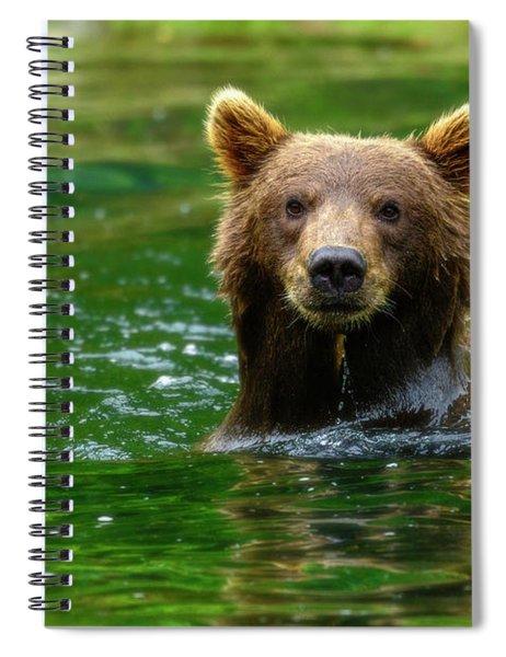 Pose Spiral Notebook