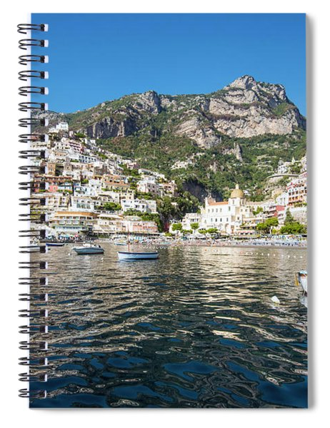 Positano From The Bay Spiral Notebook