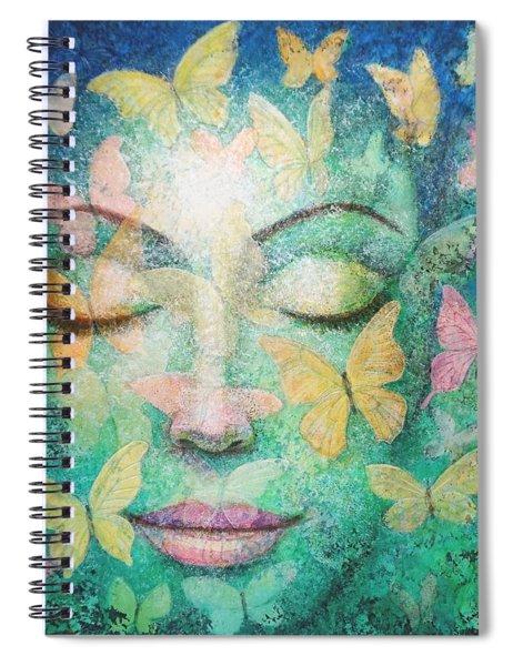 Possibilities Meditation Spiral Notebook
