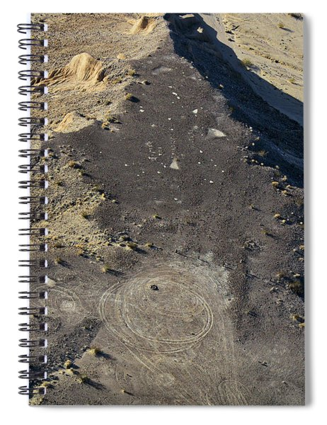 Spiral Notebook featuring the photograph Possible Archeological Site by Jim Thompson