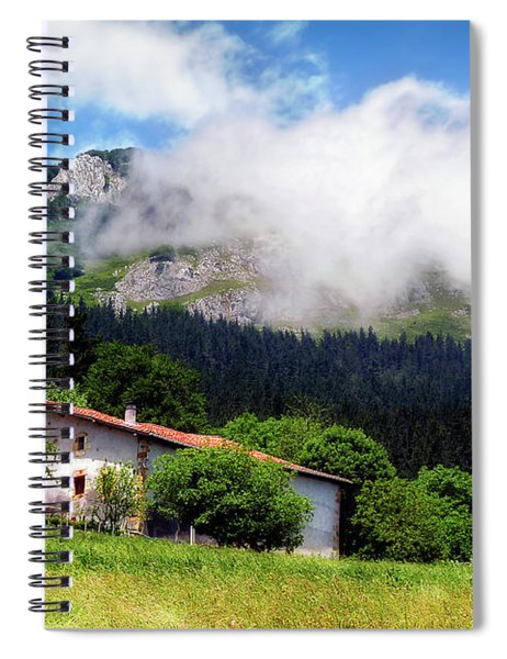 Postcard From Basque Country Spiral Notebook