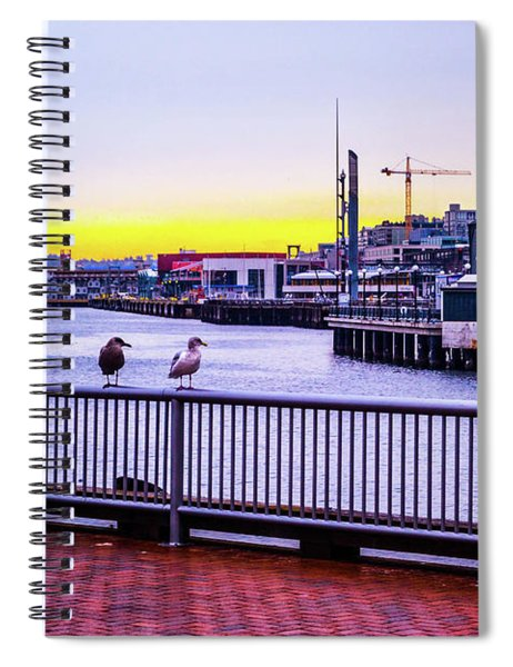 Posted  Spiral Notebook