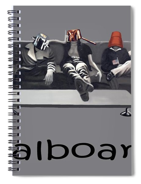 Pot Heads Spiral Notebook