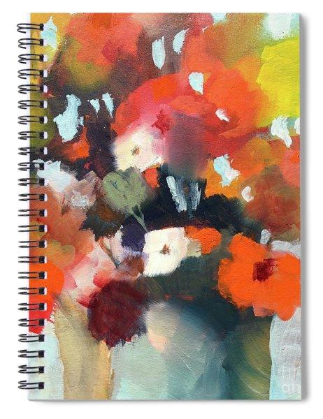 Pot Of Flowers Spiral Notebook