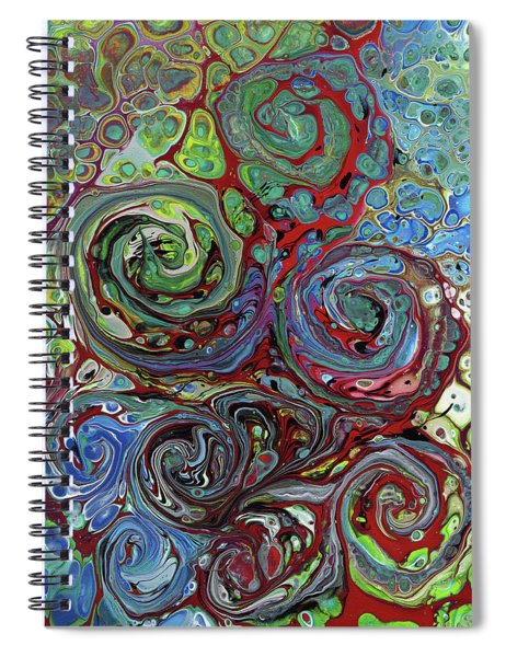 Pour Storm Spiral Notebook