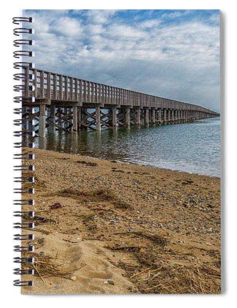 Powder Point Bridge Spiral Notebook