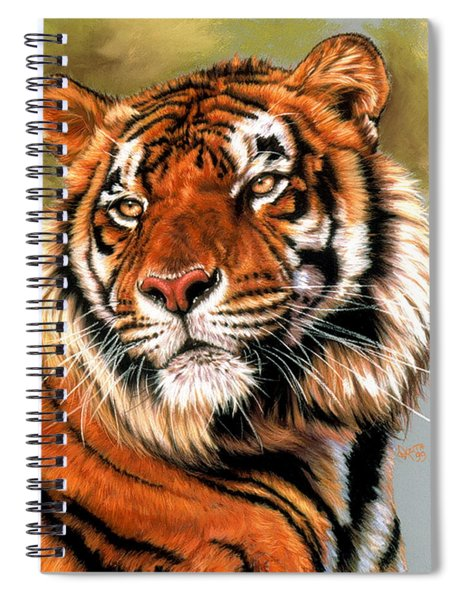 Power And Grace Spiral Notebook