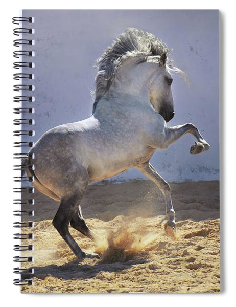 Power In Motion Spiral Notebook