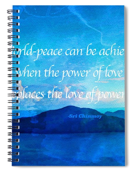 Power Of Love Spiral Notebook