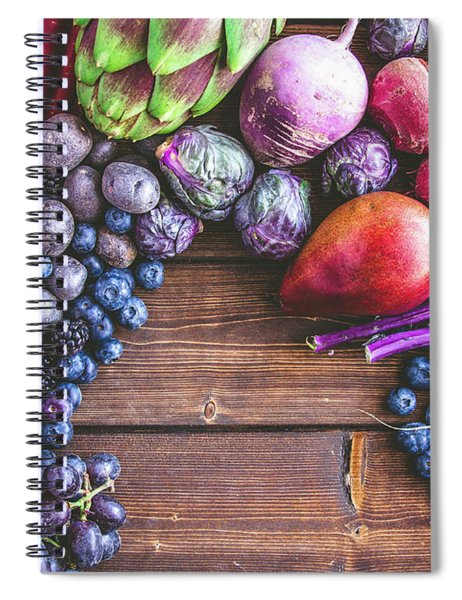 Power Of Purple Spiral Notebook