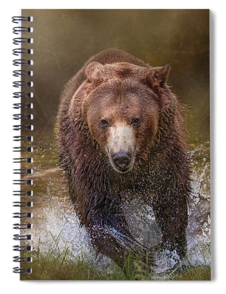 Power Of The Grizzly Spiral Notebook