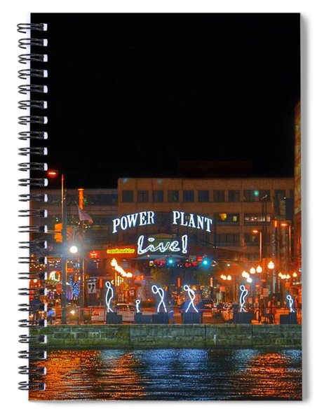 Power Plant Live In Baltimore Spiral Notebook