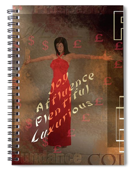Powered Inspirations Spiral Notebook