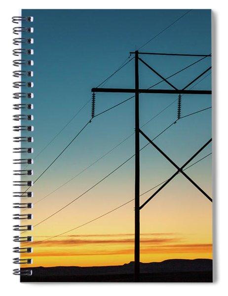 Powerful Sunrise Spiral Notebook