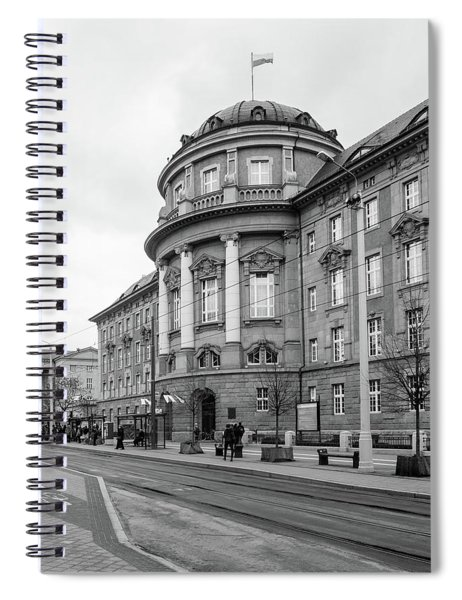Poznan University Of Medical Sciences Spiral Notebook