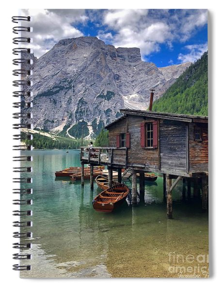 Pragser Wildsee View Spiral Notebook