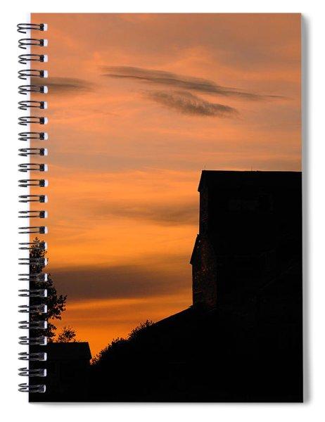 Prairie Dusk Spiral Notebook