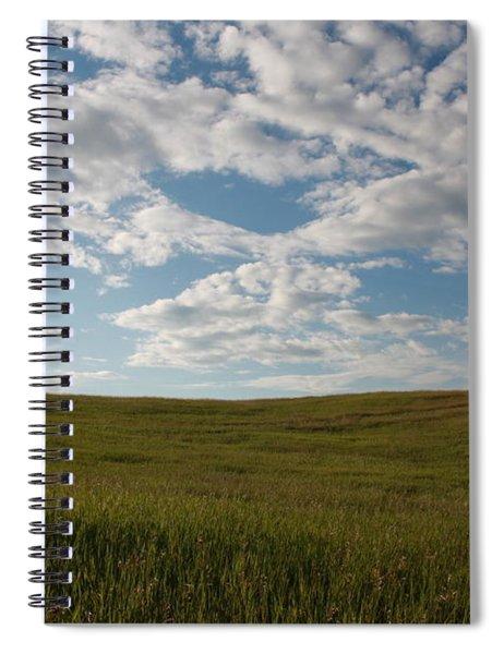 Prairie Field Spiral Notebook