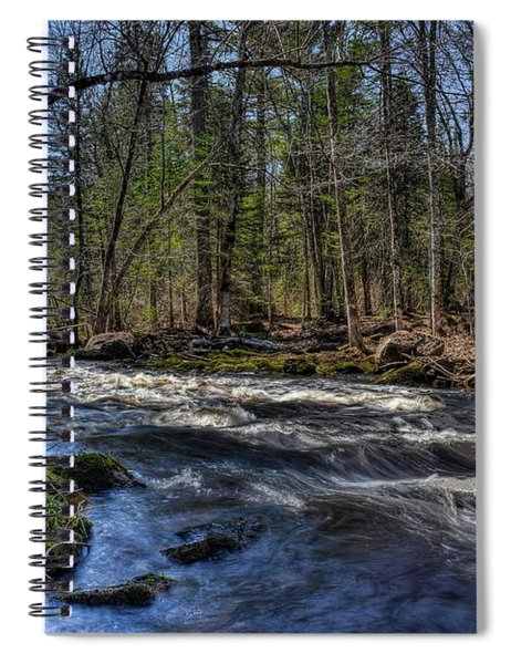 Prairie River White Riffles Spiral Notebook