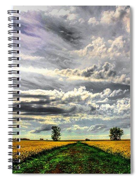 Prairie Sky 2 Spiral Notebook