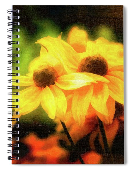 Sun Sisters Revisited Spiral Notebook