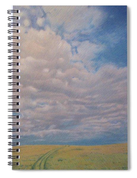 Prairie Trail Spiral Notebook