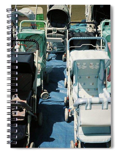 Pram Lot Spiral Notebook