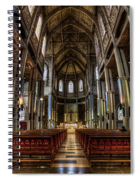 Our Lady Of Nahuel Huapi Cathedral In The Argentine Patagonia Spiral Notebook