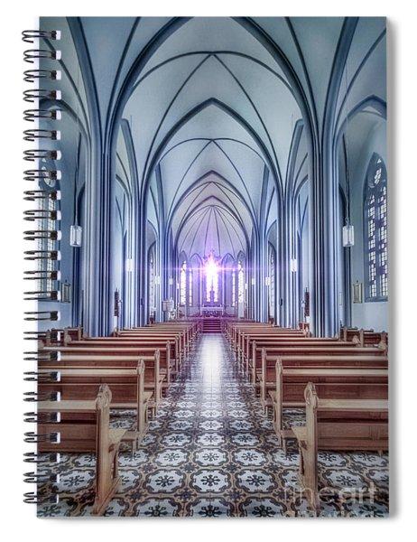 Prayer Arising Spiral Notebook