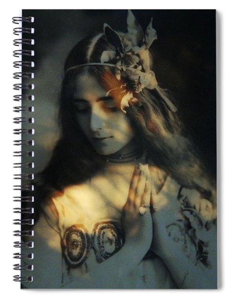 Prayer - Dream A Little Dream For Me  Spiral Notebook