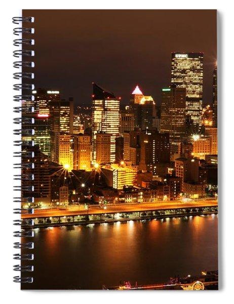 Pre-dawn Spiral Notebook