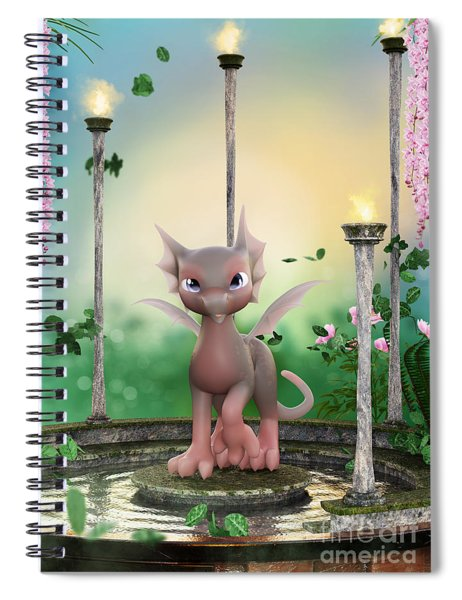 Precious In Pink Spiral Notebook