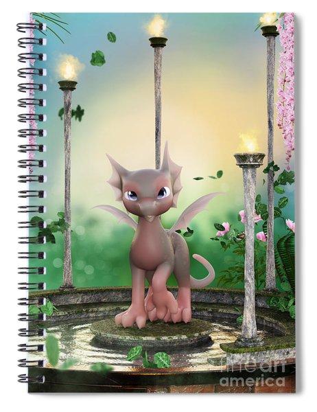 Precious In Pink Spiral Notebook